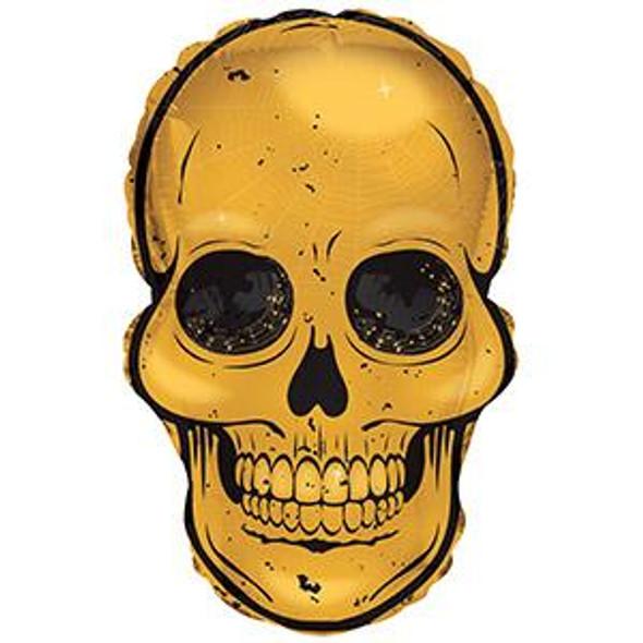 """12"""" Gold Skull - AIR FILL"""