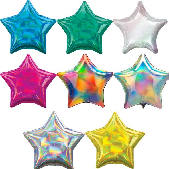 "19"" Iridescent Stars"