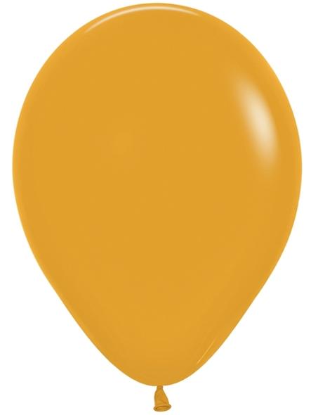 """11"""" Betallatex Deluxe Mustard - 50 Ct."""