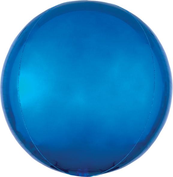 "16"" Blue Orbz - 3 ct"