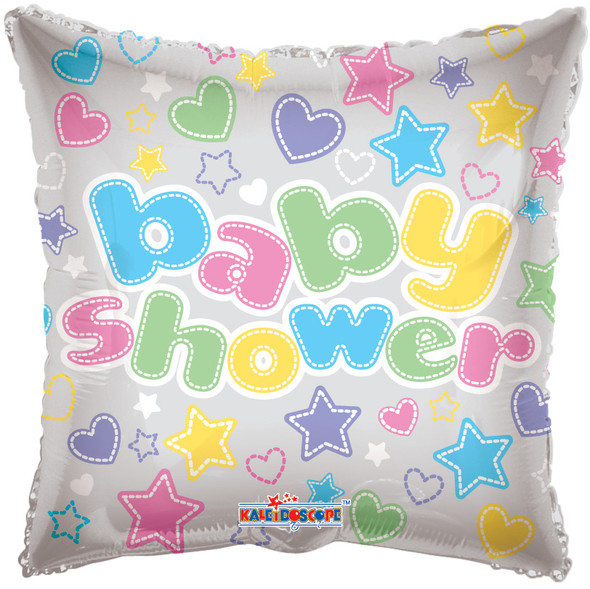 """18"""" Baby Shower - Clear View"""