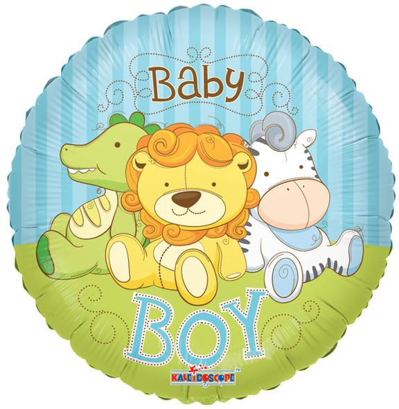 "18"" Baby Boy Jungle Animals"