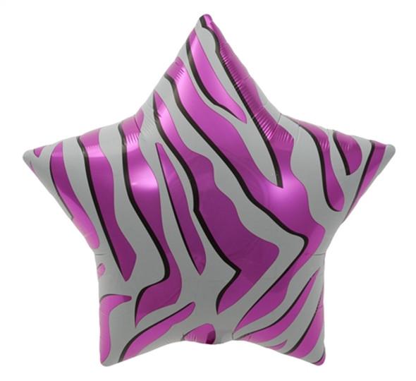 """22"""" Pink Zebra Stripe"""