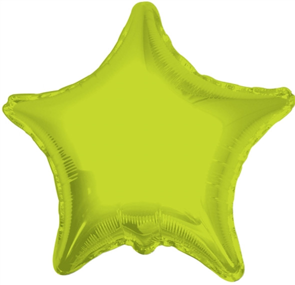 """18"""" Lime Green Star"""