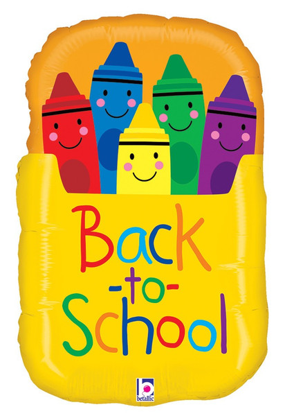 "28"" Back to School Crayon Box"