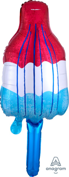 """40"""" Red White and Blue Popsicle"""