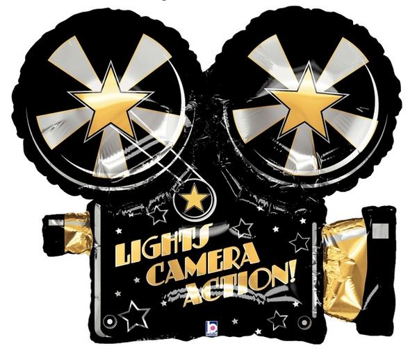 "32"" Lights Camera Action"