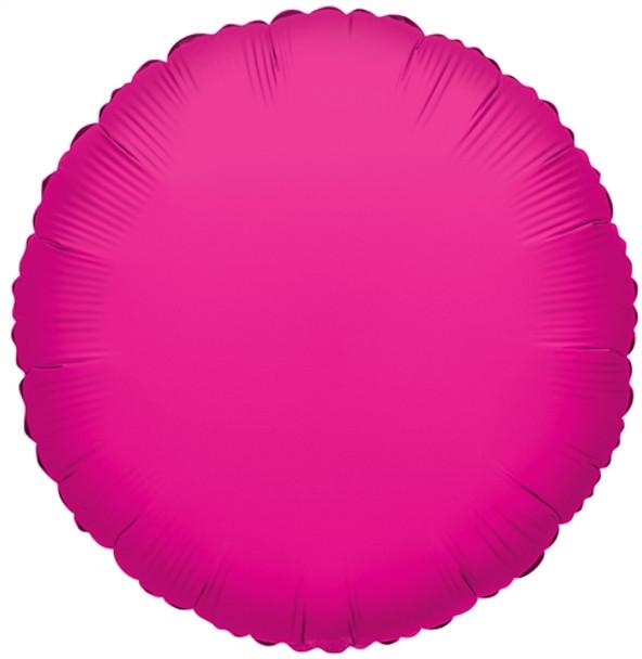 """18"""" Hot Pink Round"""