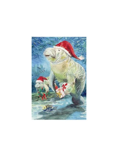 Manatee Holiday Cards