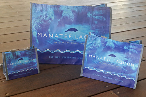 Manatee Lagoon Reusable Bag