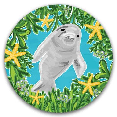 Manatee Car Coaster