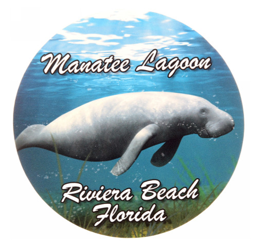 Manatee Lagoon Custom Decal
