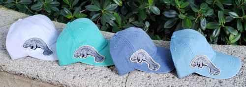 Manatee Applique Hat
