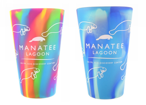 Manatee Silipint 16oz Silicone Pint Glass