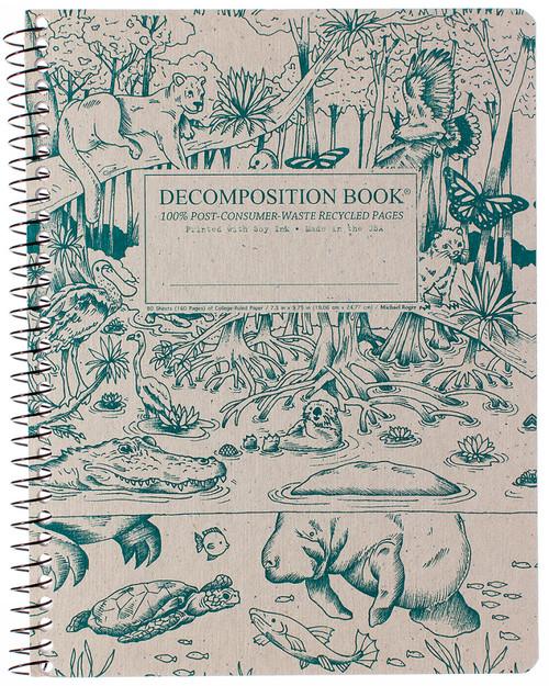 Everglades Decomposition Spiral Notebook