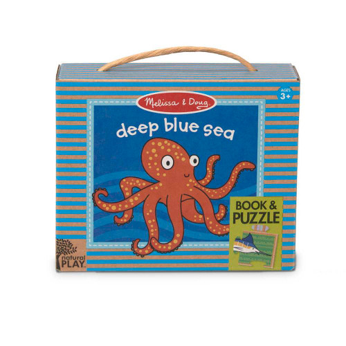 Deep Blue Sea - Natural Play Book & Puzzle