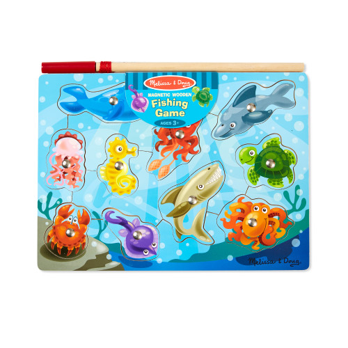 "Fishing ""Catch and Release"" Magnetic Puzzle Game"