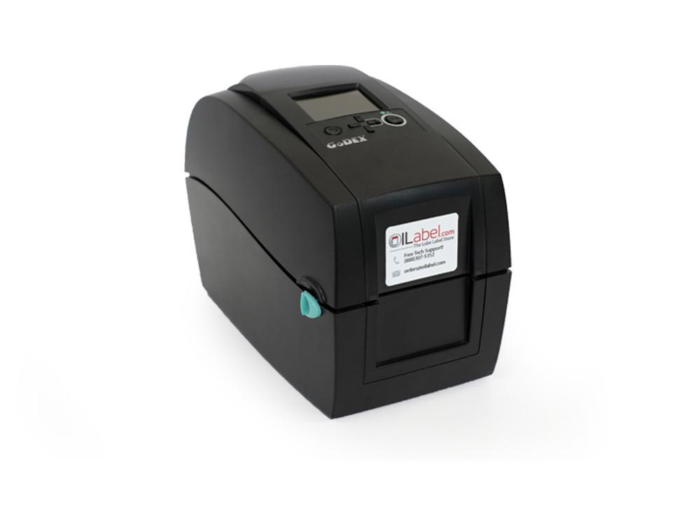 Godex RT200i Oil Change Sticker Printer