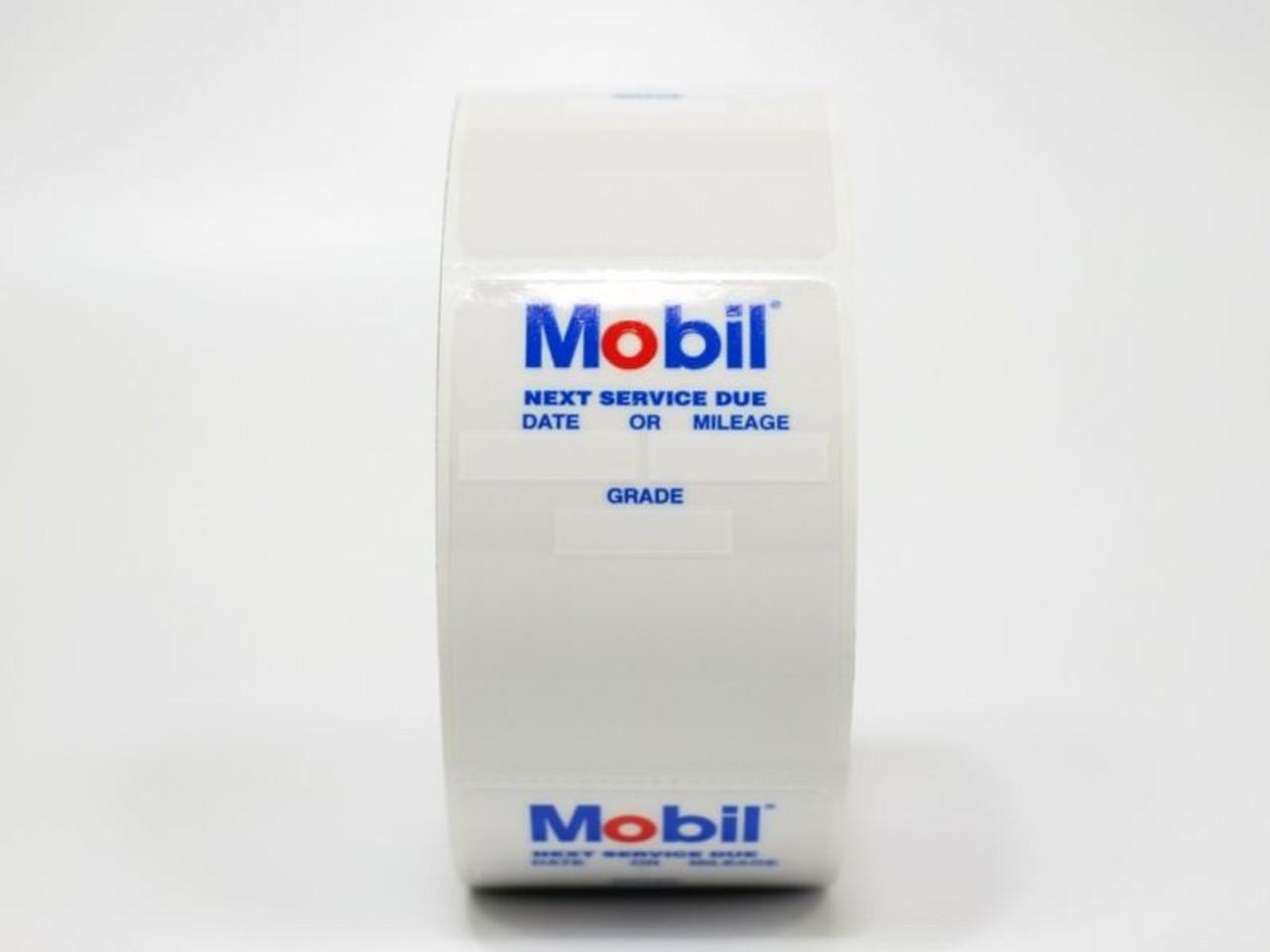 Mobile Oil Change Sticker for your printer machine