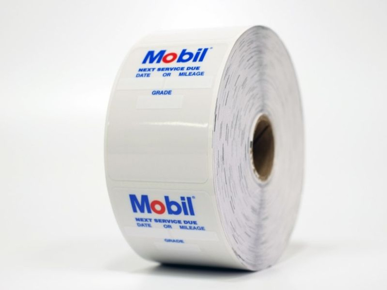 Mobile Oil Change Sticker - static cling