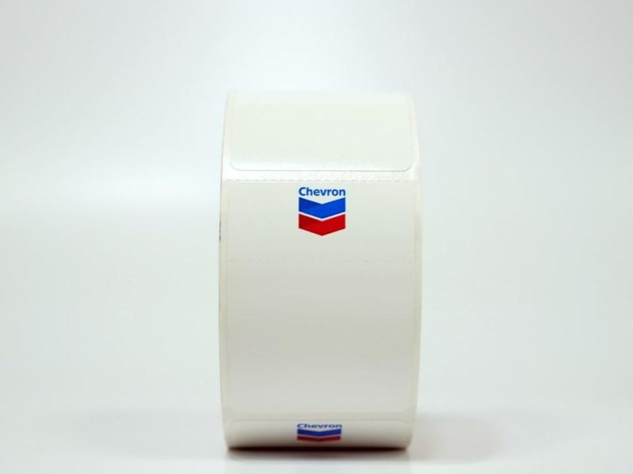 Chevron Oil Change Sticker - printer compatible!