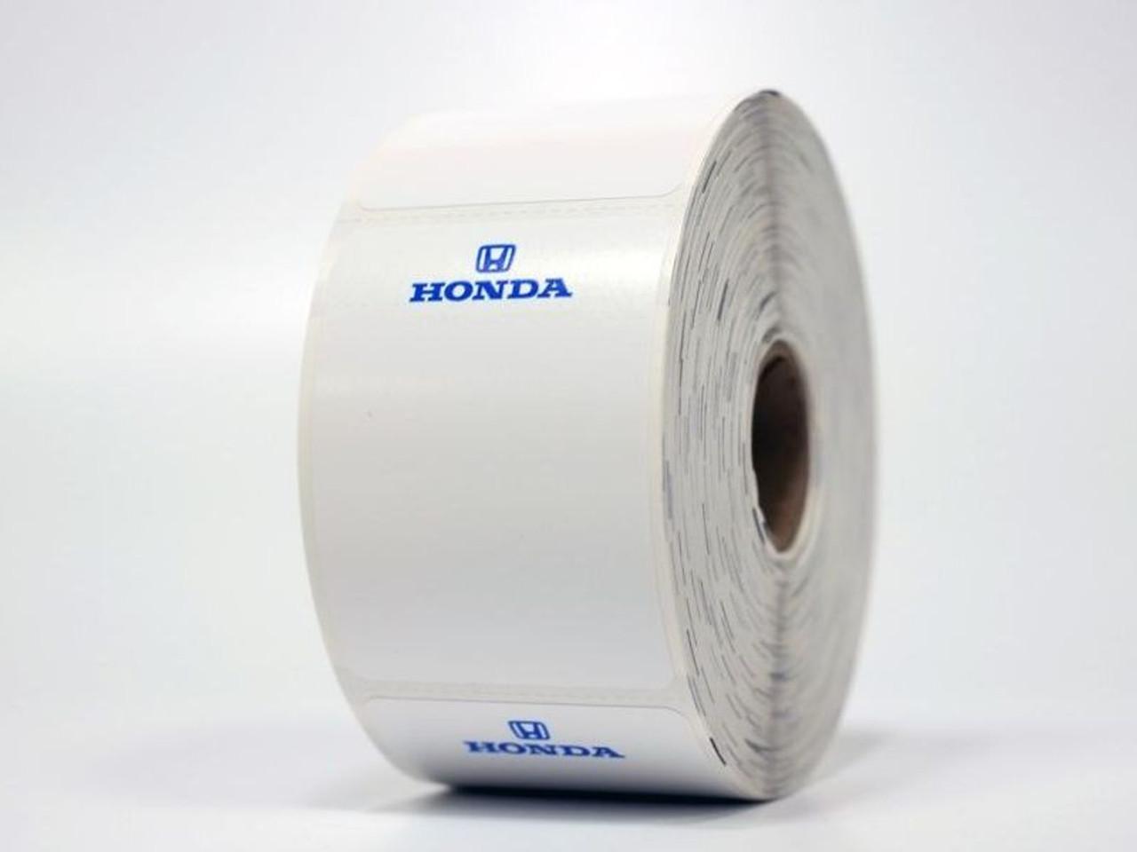 Honda Oil Change Stickers - printer compatible!