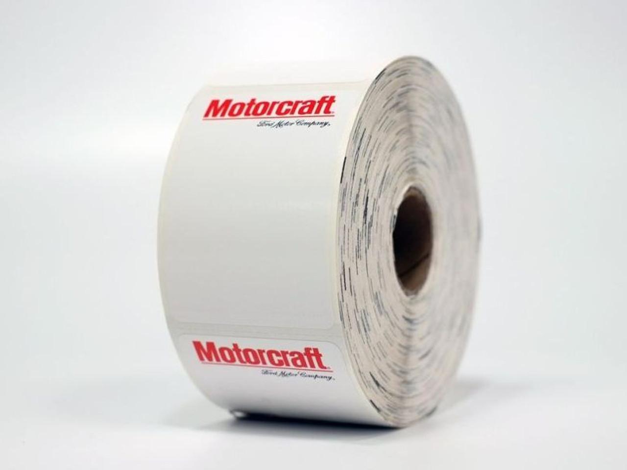 Motorcraft Oil Change Sticker - Printer