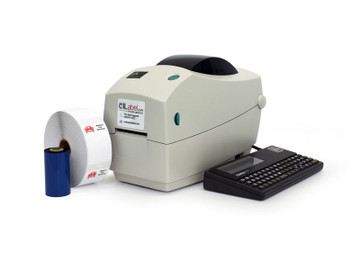 The Zebra TLP 2824 starter kit from OILabel.com comes standard with everything you'll need to get started printing oil change stickers. From a roll of labels, to the ribbon and keypad, this printer is the perfect fit for your shop. We even have free tech support to help you get setup and running in no time!