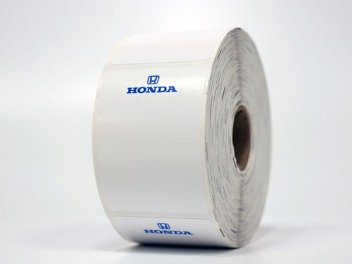Honda Oil Change Stickers - printer compatible!