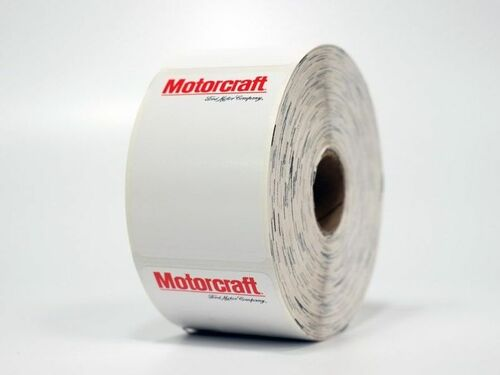 Motorcraft Oil Change Sticker - Printer