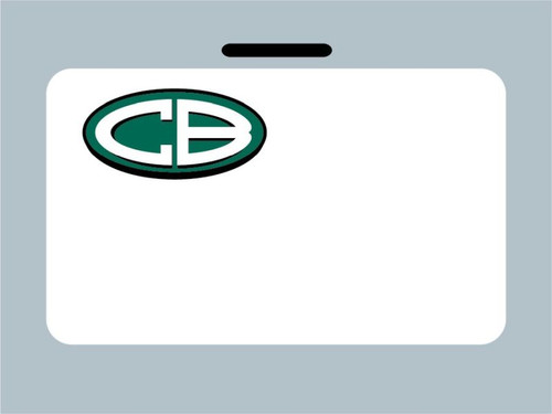 Christian Brothers Oil Change Stickers - white low tac