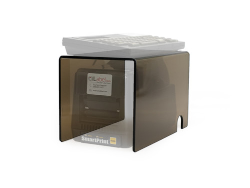 Create a smaller footprint for your SmartPrint system with a custom made stand from OILabel.com.
