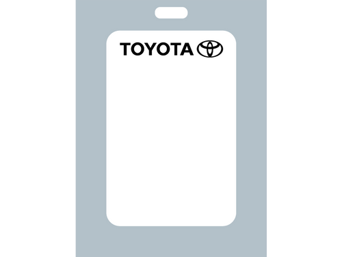 These labels are perfect for Toyota dealers or a Toyota enthusiast. Help remind your customers when it's time to return for an oil change.