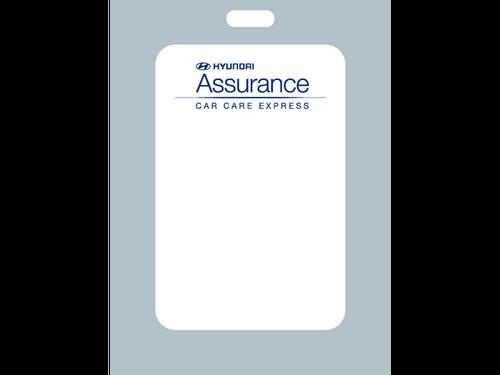 Hyundai Oil Change Stickers - Zebra Format