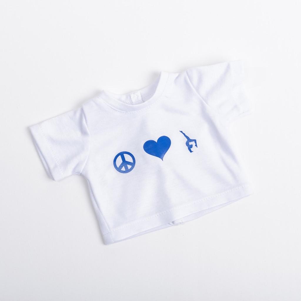 "Gymnastics Tee-Shirts for 18"" Doll"