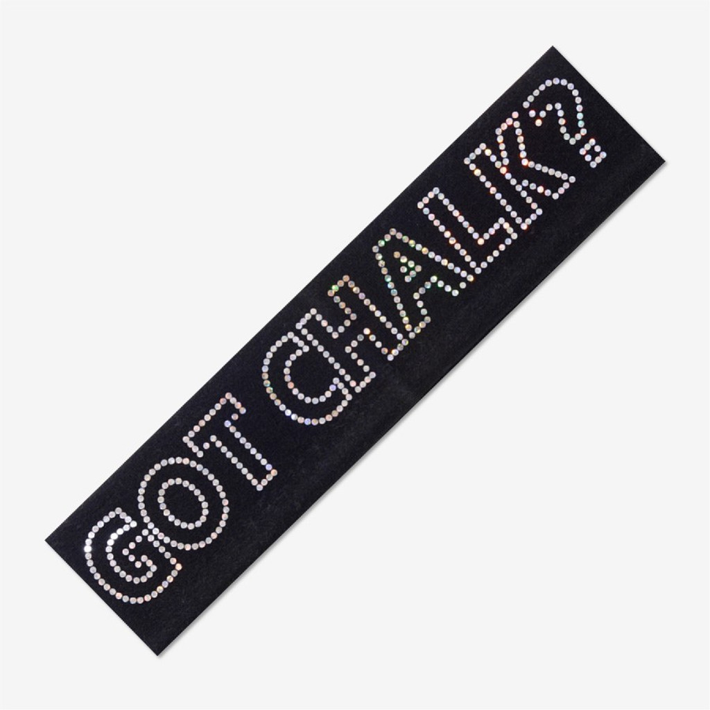 Black Gymnastics Headband - GOT CHALK?