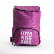 Berry Glitter Gymnastics Backpack