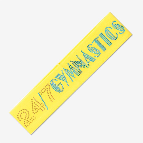Yellow Gymnastics Headband - 24/7 GYMNASTICS