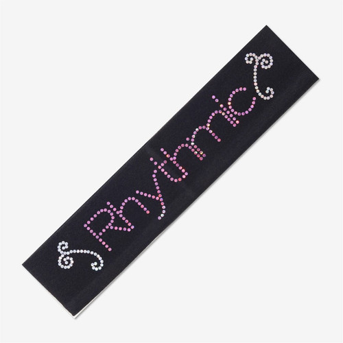 Black Gymnastics Headband -RHYTHMIC
