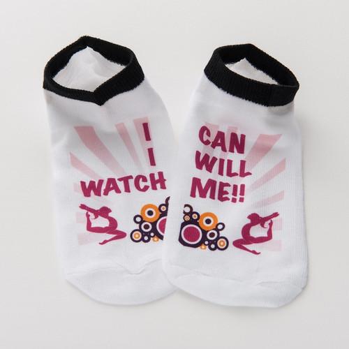 Gymnastics Socks - Watch Me