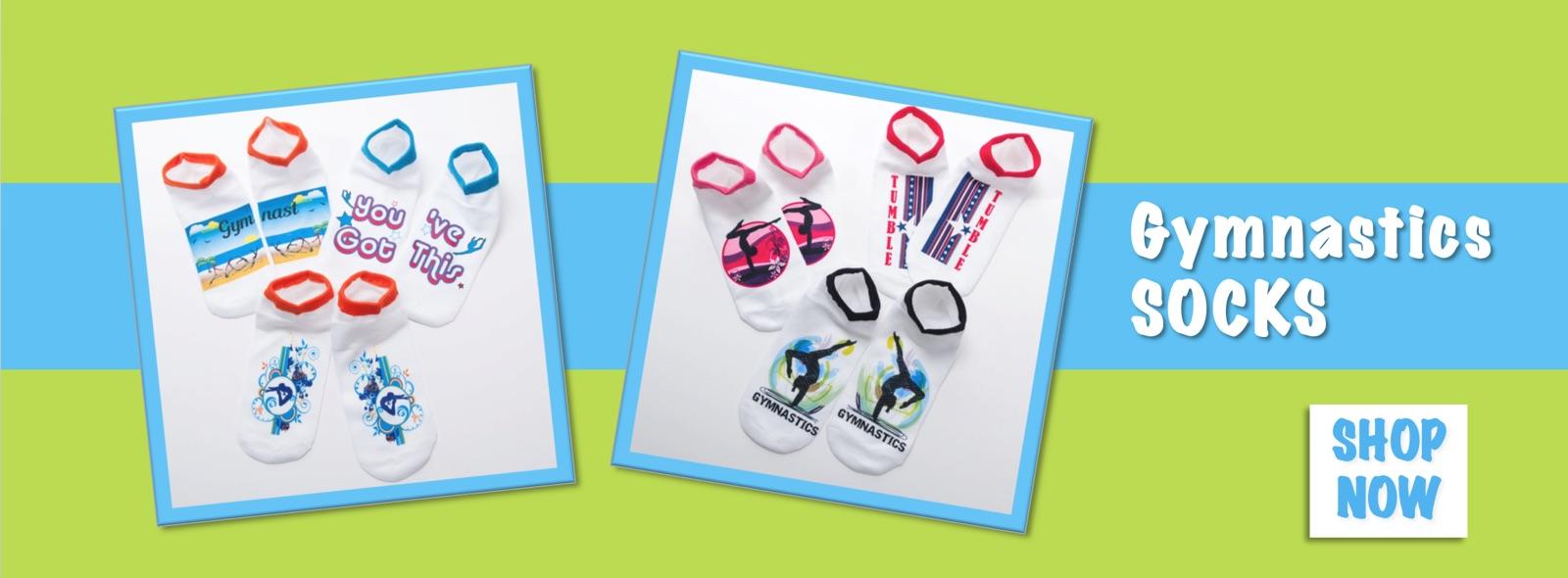 Buy Gymnastics Socks - Huge Selection at Elite Etc!