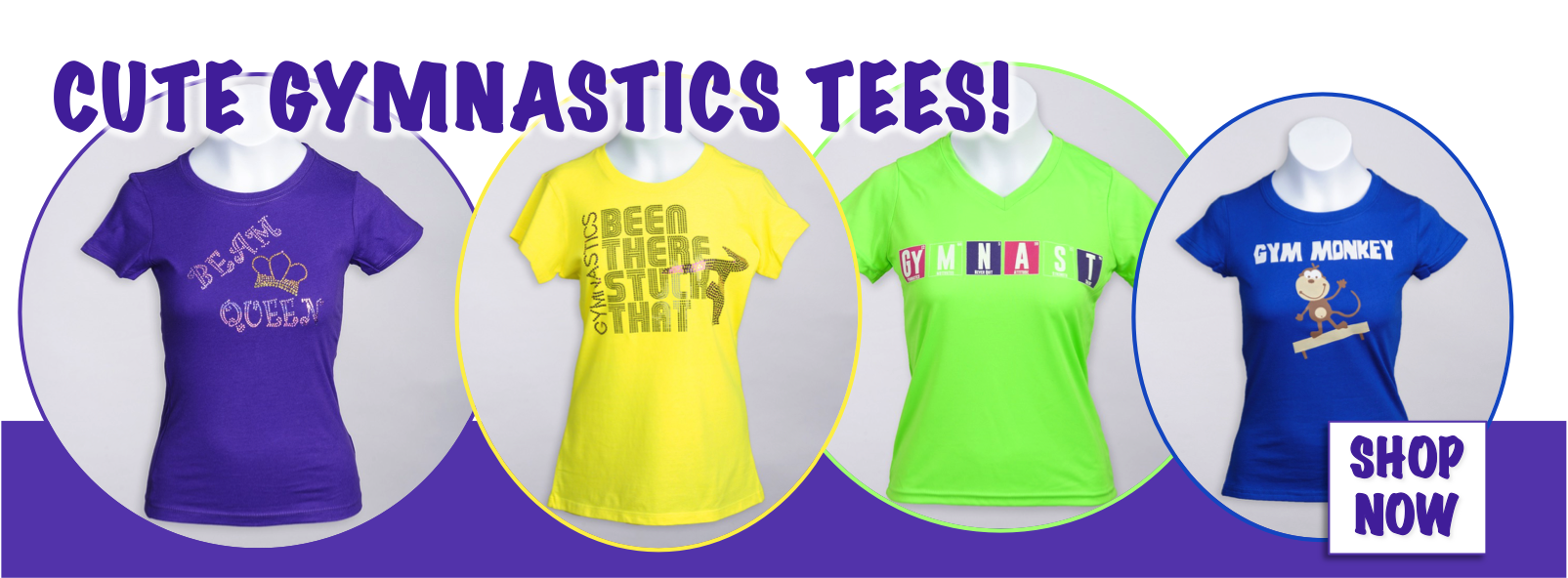Find Cute Gymnastics Tee Shirts and More at Elite Etc!