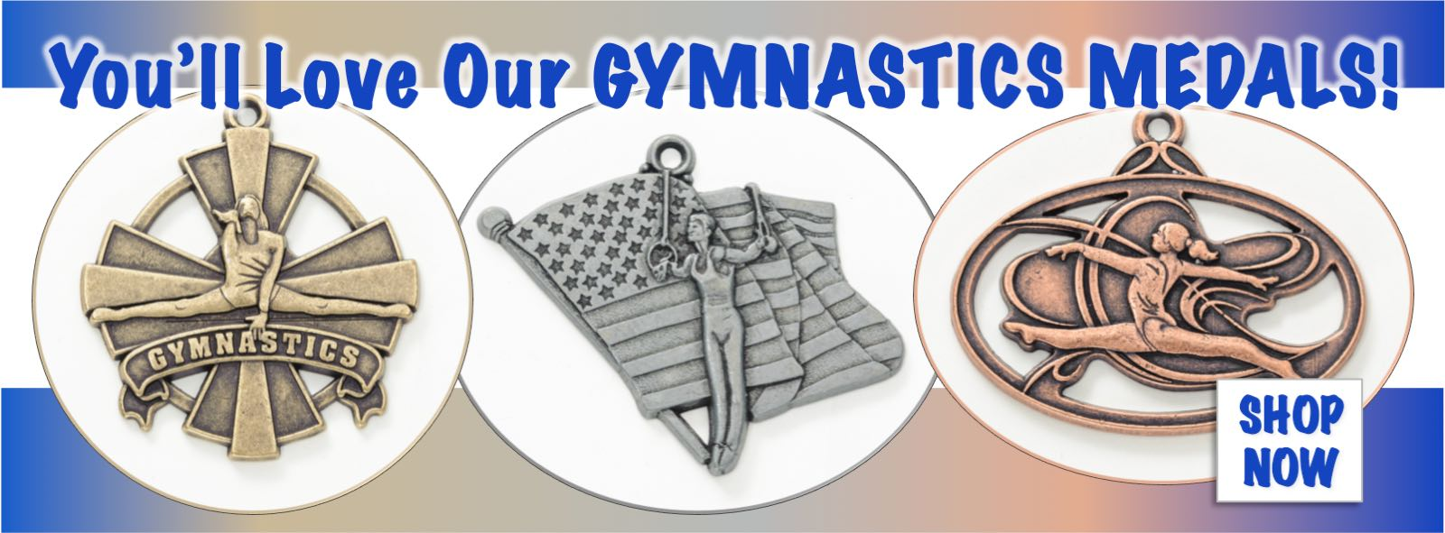 Buy Gymnastics Medals at Elite Etc. We offer a wide arrange of exceptional medals for your gymnastics event, affordably priced.