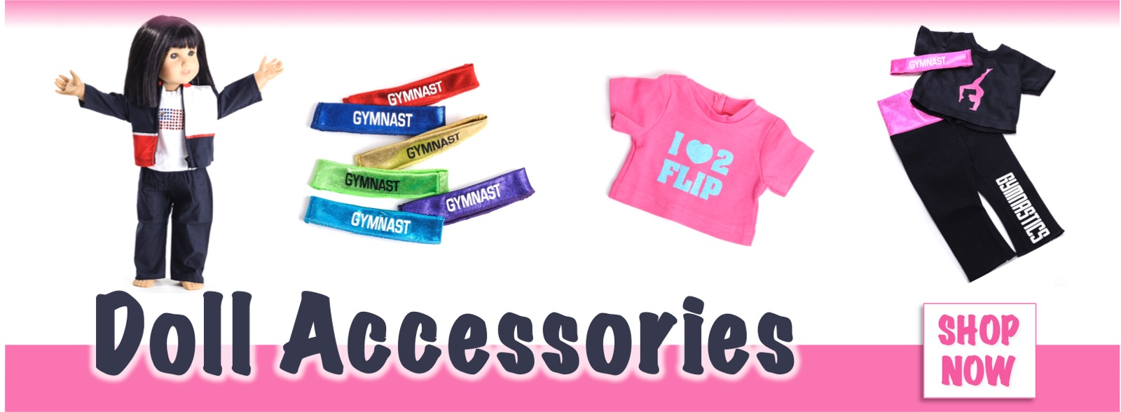 Buy Gymnastics Doll Accessories at Elite Etc!