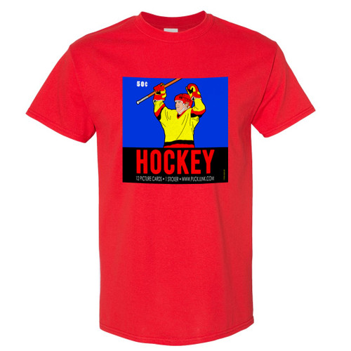 Hockey Card Wrapper T-Shirt #4: 1980s Celebration