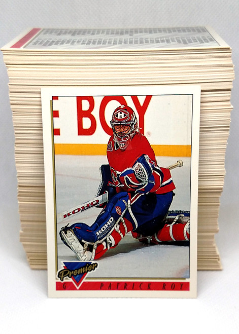 1993-94 Topps Premier Hockey Series 1 Complete Set