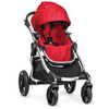 Baby Jogger City Select Single-Silver Frame-Ruby