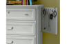 Smart Stuff Gabriella Drawer Chest in Lace