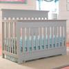 Fisher Price Lakeland Convertible Crib in Misty Grey