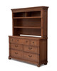 Simmons Hanover Park Collection Bookcase/Hutch in Chestnut